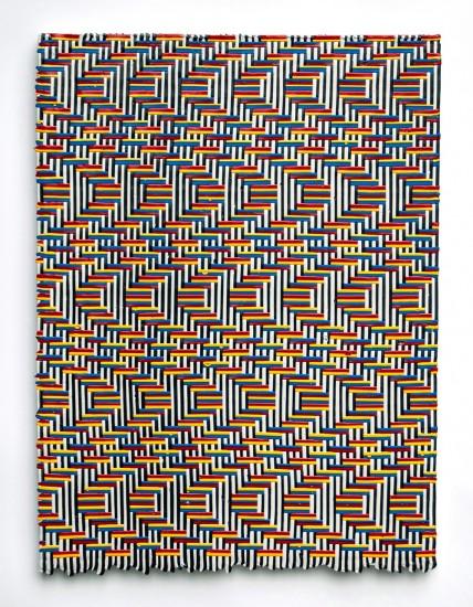Robert Davidovitz, Wave 1, 2015, acrylic mounted on panel, 24 x 18 inches
