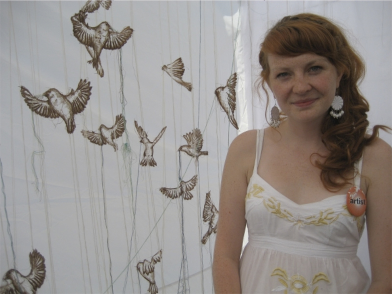 A busy season for fibre artist Amanda McCavour