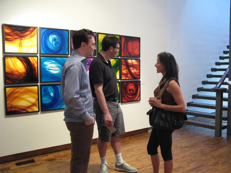 Artist's Reception for Light Abstractions by Ryan Van Der Hout