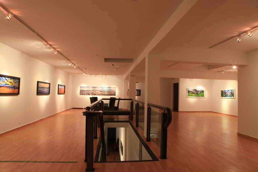 Shel Zahav – Opening Reception and installation shots