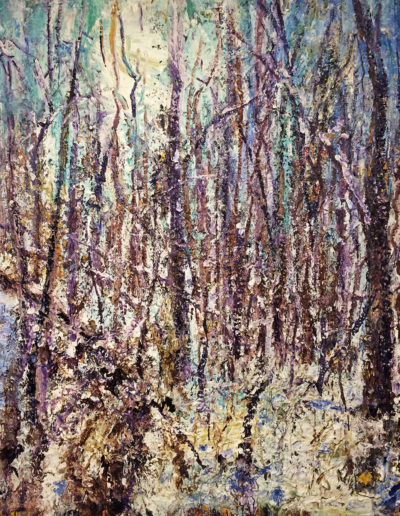 Jim Reid, Forest-2-7-18, 2018, acrylic on canvas, 54 x 48 inches