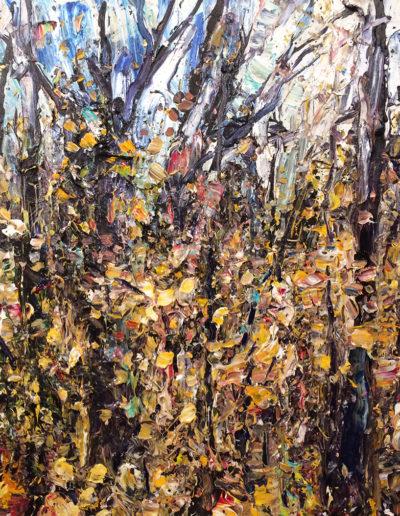 Jim Reid, 11-10-11, 2011, acrylic on canvas, 30 x 30 inches
