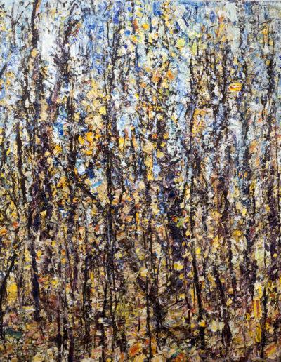 Jim Reid, Exquisite Entropy, 14-10-10, 2010, acrylic on canvas, 82 x 108 inches