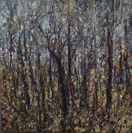 Jim Reid, Feral 4-11-08, 2008, acrylic on canvas, 60 x 60 inches