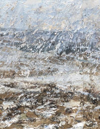 Jim Reid, Burnt Fields, 1983,  acrylic on canvas, 48 x 96 inches