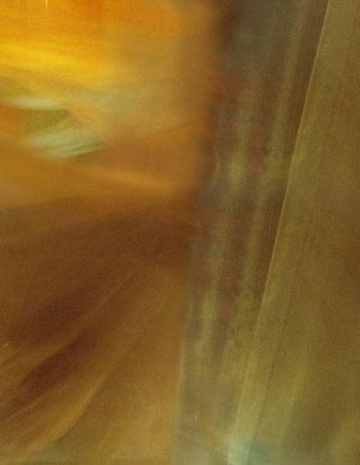 Joan Kaufman, Swing 1 (Unravelling Still), 2012, chromira print glossy box, 21 x 30 inches
