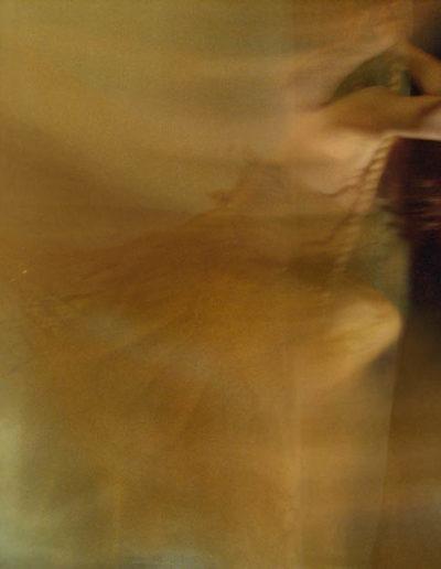 Joan Kaufman, Swing 3 (Unravelling Still), 2012, chromira print glossy box, 21 x 30 inches