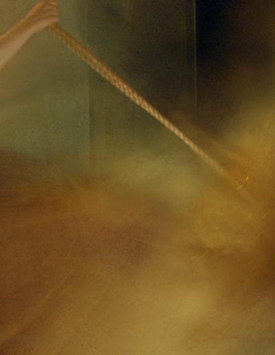 Joan Kaufman, Swing 4 (Unravelling Still), 2012, chromira print glossy box, 21 x 30 inches