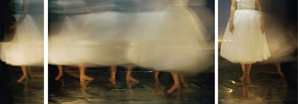 Joan Kaufman, Cloud Cover Series 4, 2013, archival inkjet print, 12 x 33 inches