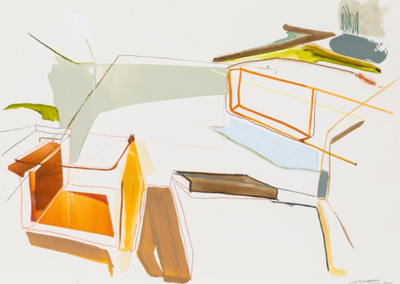 PCharbonneau_Systeme-Saissonier-Study_2014_acrylic-and-crayon-on-paper_28.25-x-36inches