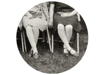 Kris Sanford, Folding Chairs, 2015