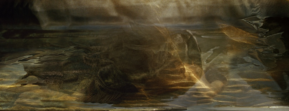 Joan Kaufman, Cloud Cover 1.4, 2013, archival inkjet print, 20 x 52 inches