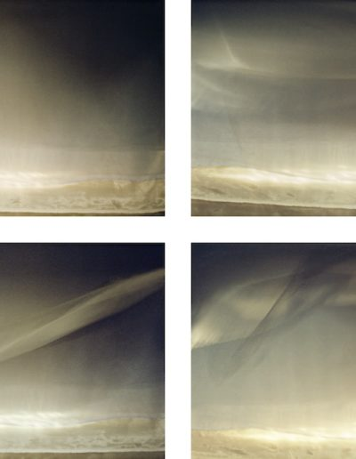 Joan Kaufman, Cloud Cover 2.1 - 2.4, 2013, archival inkjet print, 21.5 x 32 inches