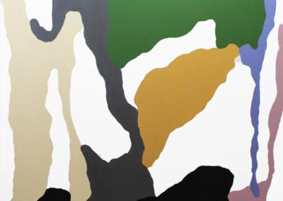Mike Hansen, Senza, 2018, acrylic on canvas, 48 x 48 inches